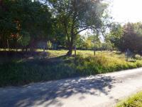 Pohled na studnu a velký pozemek (Prodej domu v osobním vlastnictví 70 m², Vysoký Chlumec)