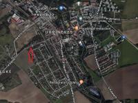 Lokace v obci (Prodej pozemku 436 m², Praha 10 - Uhříněves)