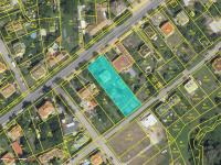 Katastrální mapa (Prodej domu v osobním vlastnictví 75 m², Praha 9 - Vinoř)