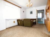 Obývací pokoj (Prodej domu v osobním vlastnictví 75 m², Praha 9 - Vinoř)