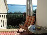 Panoramatický výhled na ostrov Krk a Kvarnerský záliv  (Prodej penzionu 375 m², Dramalj)