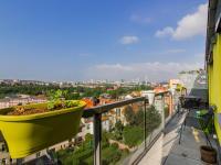 Výhled na jih Prahy (Prodej bytu 3+kk v osobním vlastnictví 80 m², Praha 10 - Záběhlice)
