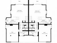 půdorys přízemí (Prodej domu v osobním vlastnictví 294 m², Průhonice)