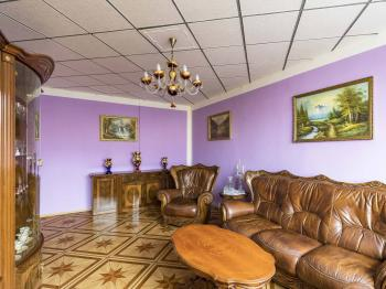 Obývací pokoj - Prodej bytu 3+1 v družstevním vlastnictví 67 m², Praha 4 - Chodov