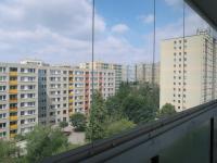 Výhled z lodžie za dům - Pronájem bytu 3+kk v osobním vlastnictví 63 m², Praha 4 - Chodov
