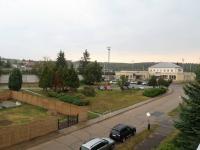 Výhled z pokoje na nádraží - Prodej bytu 3+1 v osobním vlastnictví 80 m², Poříčany