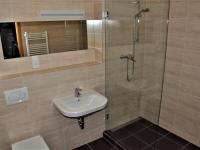 Koupelna se sprchovým koutem - Pronájem bytu 1+kk v osobním vlastnictví 41 m², Praha 9 - Čakovice