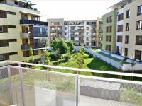 Výhled z balkónu - Pronájem bytu 1+kk v osobním vlastnictví 41 m², Praha 9 - Čakovice