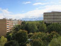 Pohled z lodžie orientované na jih - Pronájem bytu 1+1 v osobním vlastnictví 27 m², Praha 4 - Krč