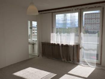 Obývací pokoj - Pronájem bytu 1+1 v osobním vlastnictví 27 m², Praha 4 - Krč