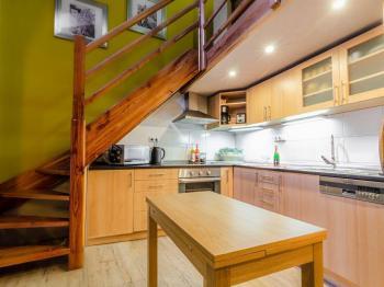 Kuchyně - Pronájem bytu 2+kk v osobním vlastnictví 45 m², Praha 1 - Malá Strana