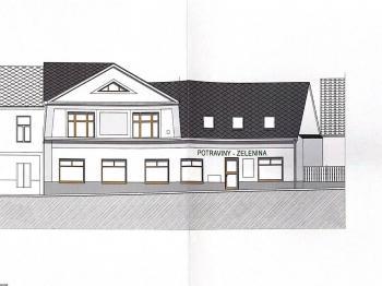 Pohled severozápadní  - Prodej domu v osobním vlastnictví 281 m², Sedlec-Prčice