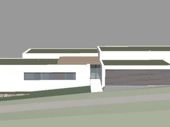 vizualizace projektu - Prodej bytu 4+kk v osobním vlastnictví 101 m², Kamenice