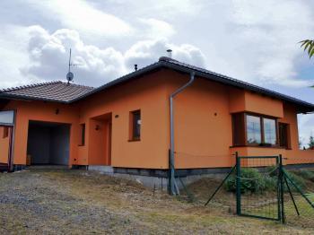 Pohled na dům - Prodej domu v osobním vlastnictví 248 m², Psáry