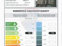 energetický průkaz budovy C - úsporný (Pronájem kancelářských prostor 13 m², Prostějov)
