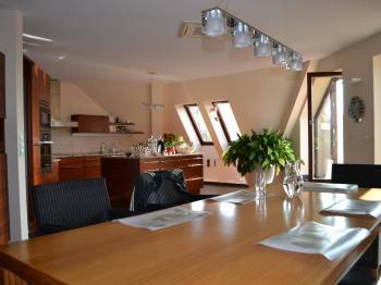 kuchyň - Prodej bytu 5+kk v osobním vlastnictví 320 m², Praha 10 - Dolní Měcholupy