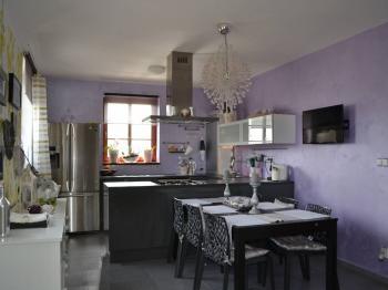 kuchyň s jídelnou - Prodej domu v osobním vlastnictví 167 m², Vlastibořice