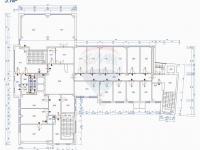 půdorys podlaží (Pronájem komerčního objektu 100 m², Prostějov)