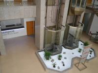 vstupní hala s výtahy (Pronájem kancelářských prostor 69 m², Praha 4 - Michle)