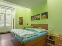 Ložnice - Prodej bytu 5+1 v osobním vlastnictví 218 m², Praha 3 - Vinohrady