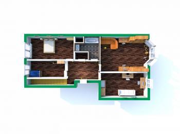 Druhé patro - Prodej bytu 5+1 v osobním vlastnictví 218 m², Praha 3 - Vinohrady
