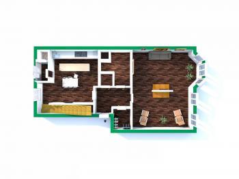 První patro - Prodej bytu 5+1 v osobním vlastnictví 218 m², Praha 3 - Vinohrady