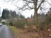pohled na pozemek (Prodej pozemku 1443 m², Kamenice)