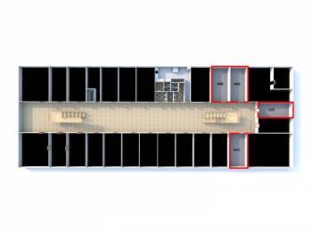 408 - Pronájem kancelářských prostor 30 m², Praha 6 - Ruzyně