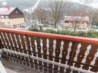 pohled za balkonu (Prodej penzionu 460 m², Špindlerův Mlýn)