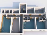 půdorys 1 NP (Prodej penzionu 460 m², Špindlerův Mlýn)