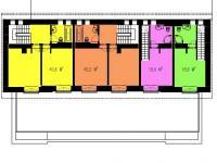 2NP_půdorys_žlutě vyznačeno - Prodej bytu 3+kk v osobním vlastnictví 86 m², Horní Maršov