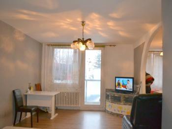 obývací pokoj - Prodej bytu 3+kk v osobním vlastnictví 70 m², Praha 9 - Černý Most