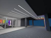 vjezd a vchod objektu - Pronájem komerčního objektu 200 m², Prostějov
