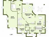 1NP - Prodej domu v osobním vlastnictví 274 m², Tuklaty
