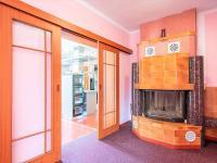 1NP obývací pokoj - Prodej domu v osobním vlastnictví 274 m², Tuklaty