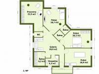2NP - Prodej domu v osobním vlastnictví 274 m², Tuklaty