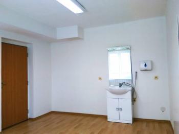 vstup do kanceláře, možno propojit se sousední - Pronájem komerčního objektu 16 m², České Budějovice
