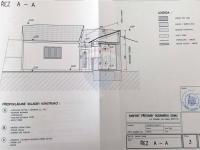 řez částí domu - Prodej domu v osobním vlastnictví 166 m², Kostelec nad Labem