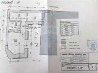 půdorys dostavby ve dvorku - Prodej domu v osobním vlastnictví 166 m², Kostelec nad Labem