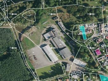 pohled na areál - Prodej komerčního objektu 34000 m², Břasy