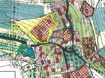 Prodej pozemku 3795 m², Popovice