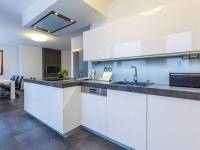 Luxusně vybavená kuchyňská linka (Prodej bytu 4+kk v osobním vlastnictví 247 m², Praha 10 - Záběhlice)