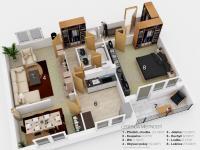 Prodej bytu 3+1 v družstevním vlastnictví 74 m², Praha 5 - Hlubočepy
