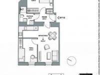 Prodej bytu 3+kk v osobním vlastnictví, 64 m2, Praha 9 - Libeň