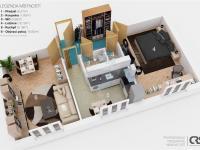 Prodej bytu 2+1 v družstevním vlastnictví 52 m², Praha 10 - Strašnice
