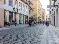 Pohled na ulici (Pronájem kancelářských prostor 85 m², Praha 1 - Staré Město)