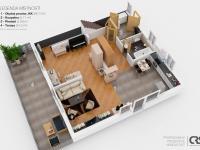 1. nadzemní podlaží (Prodej domu v osobním vlastnictví 270 m², Praha 4 - Hodkovičky)