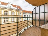Balkón, 4 m2 - Prodej bytu 4+kk v osobním vlastnictví 141 m², Praha 10 - Vršovice