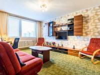 Obývací pokoj (Prodej bytu 3+kk v družstevním vlastnictví 56 m², Praha 8 - Bohnice)