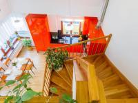 Pohled z Galerie v patře (Prodej bytu 4+kk v osobním vlastnictví 153 m², Praha 9 - Hloubětín)